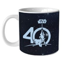 Star Wars 40th Anniversary 20 oz Heat Reactive Mug, Black