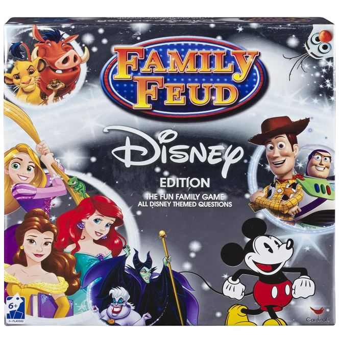 Family Feud - Disney Edition Board Game
